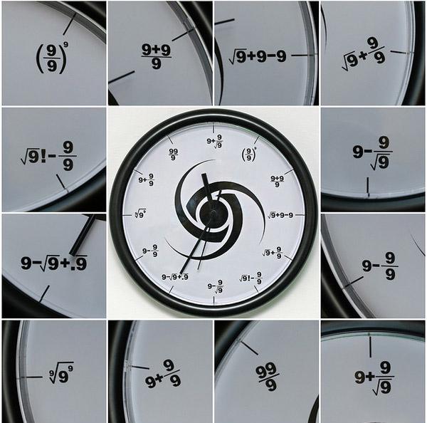 Society Wall Clock