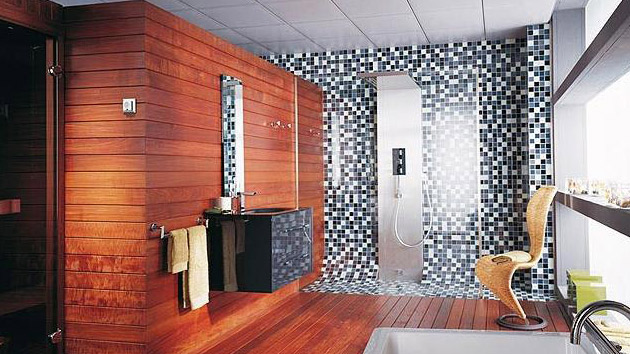 24 Mosaic Bathroom Ideas Designs: 16 Unique Mosaic Tiled Bathrooms