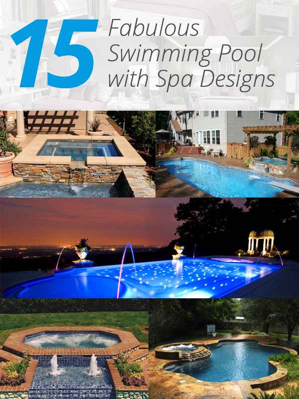 Beautiful Swimming Pool Spa