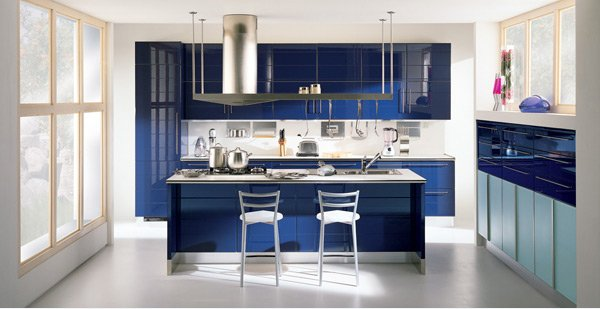 charming colorful kitchen designs | 15 High Gloss Kitchen Designs in Bold Color Choices | Home ...