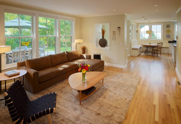 Superb Earth Toned Living Rooms