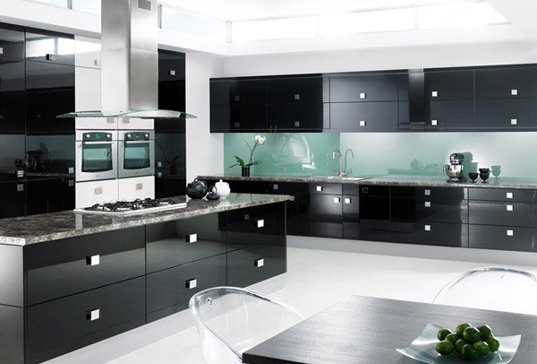 Charmant Black Gloss Kitchen. KBBC Inspirational Designs