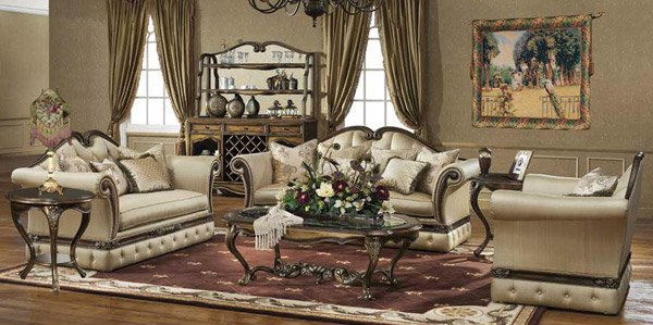 baroque designed living rooms