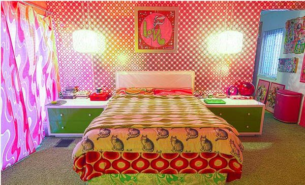 15 funky retro bedroom designs home design lover Funky bedroom accessories
