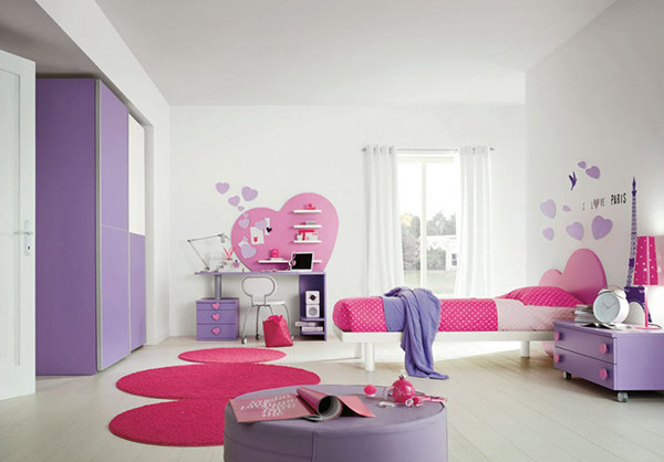 love Themed Bedroom