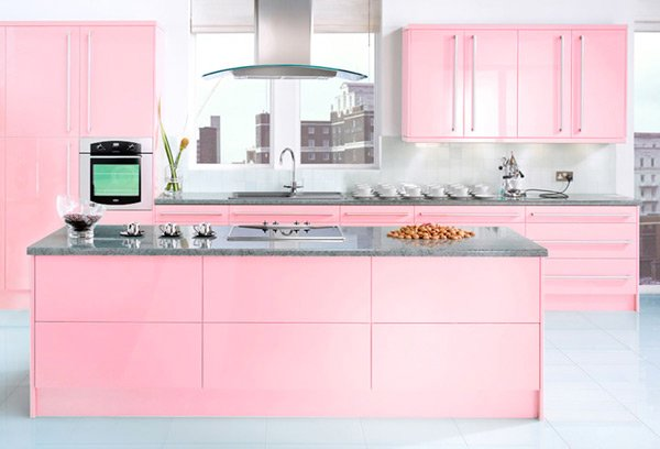 15 High Gloss Kitchen Designs in Bold Color Choices | Home ...