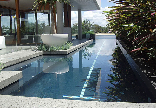 15 fascinating lap pool designs home design lover for Pool designs under 30000