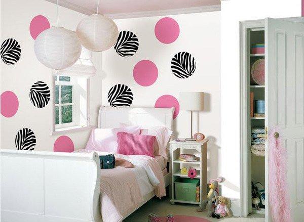 Go Wild Zebra Print Wall Decals