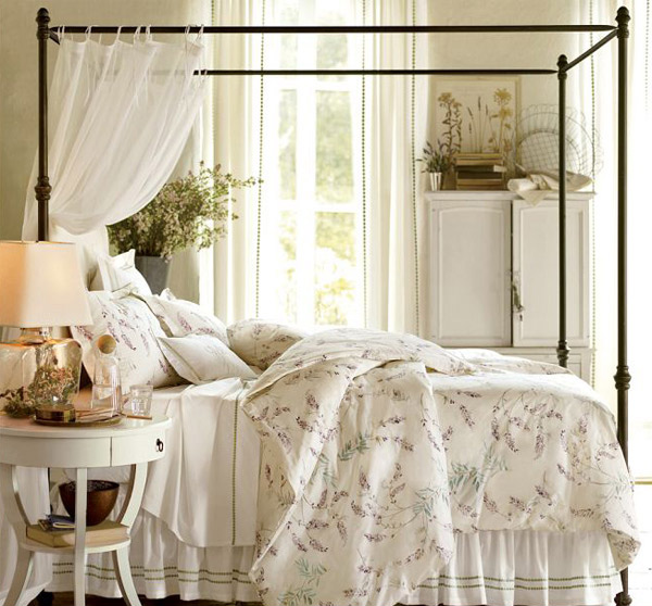 15 Dreamy And Romantic Full Draped Canopy Beds Home