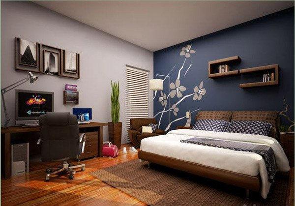 15 Bedroom Designs in Blue Hues | Home Design Lover
