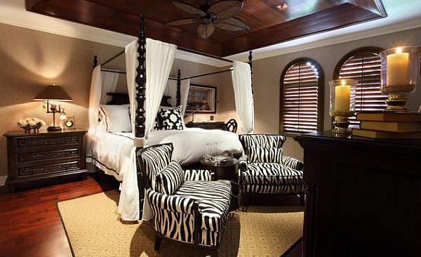 4 Poster Bed Master Bedroom Modern