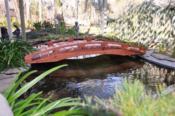 15 Japanese Inspired Garden Bridges