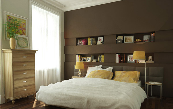 Earthy Bedroom Designs