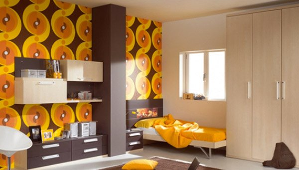 15 funky retro bedroom designs home design lover for 70s apartment design