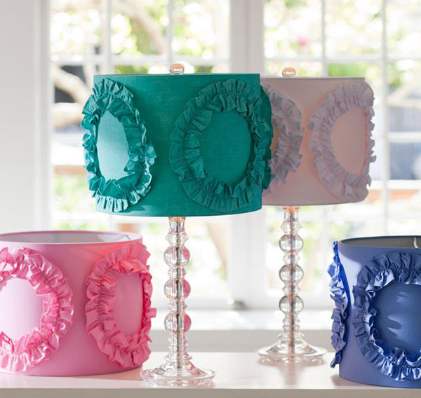 Ruffle Rings lamp