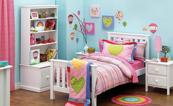Heart Themed Bedroom