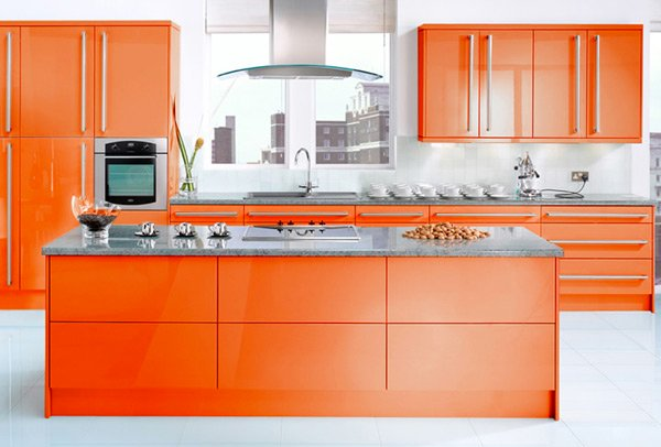 15 High Gloss Kitchen Designs In Bold Color Choices Home Design Lover