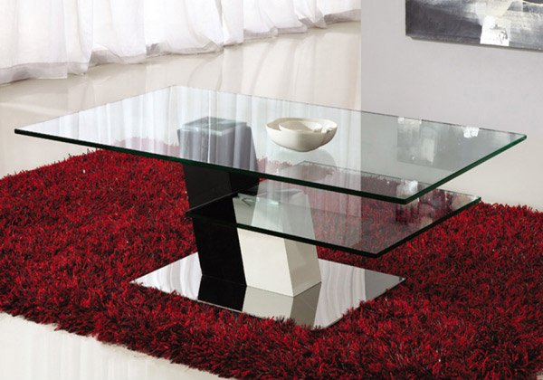 15 Stylish Rectangular Glass Top Coffee Tables Home