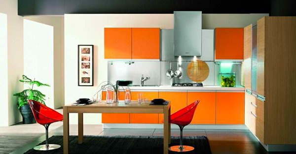 15 High Gloss Kitchen Designs In Bold Color Choices Home Design - Kitchen Design Yellow