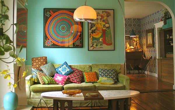 15 Bohemian Inspired Living Rooms | Home Design Lover