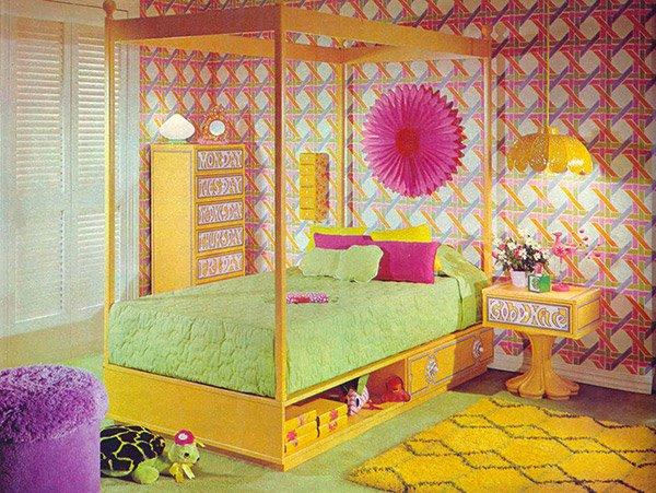 70's Bedrooms