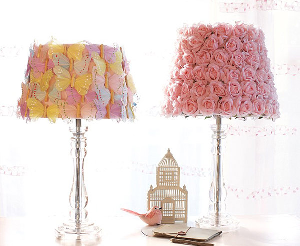 15 girly diy lamp shade designs home design lover lamp shade designs mozeypictures Images