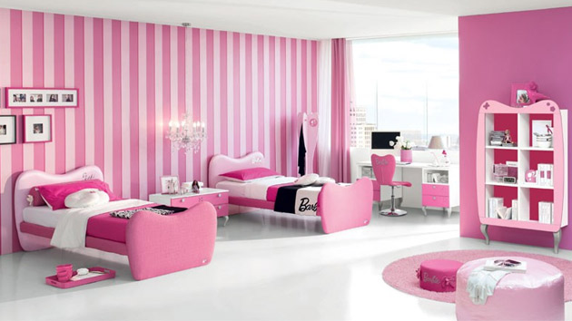 15 Pretty and Enchanting Girls Themed Bedroom Designs | Home ...