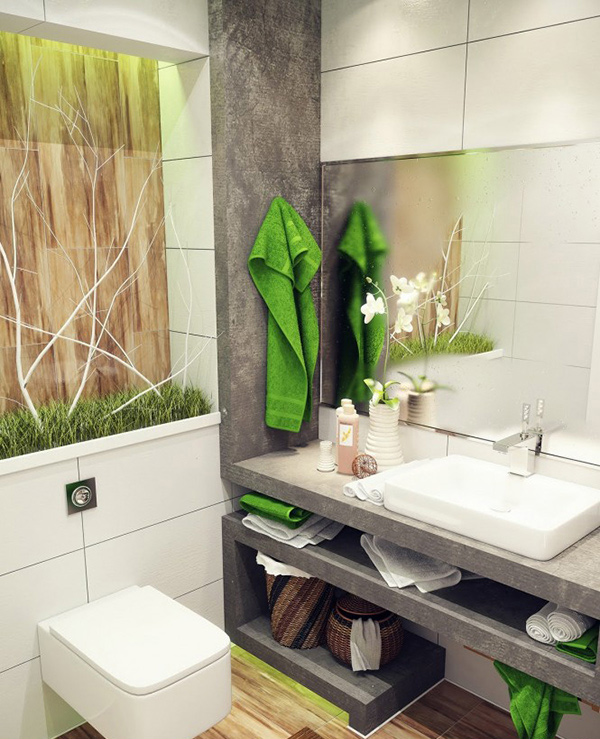 Nature-inspired Bathroom