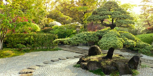 Tips in creating a zen garden home design lover for How to landscape backyard