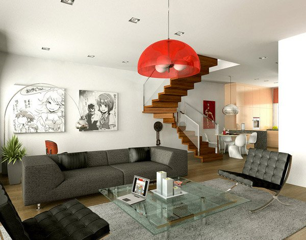 Contemporary Design. Dominusds. This Contemporary Living Room ...