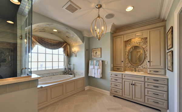 15 master bathroom ideas for your home home design lover - Pictures of bathroom designs ...