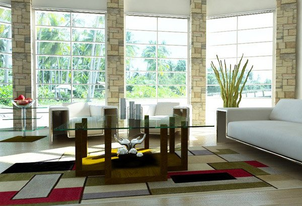 Mari Contemporary Living Room. Email; Save Photo. Windows Design