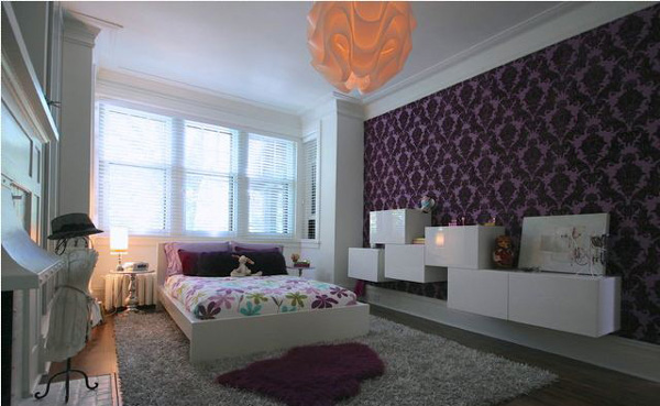 Bedroom Decorating Ideas In Purple 15 vibrant purple bedroom ideas | home design lover