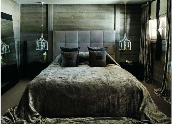 Dark Country/ Rustic Bedroom