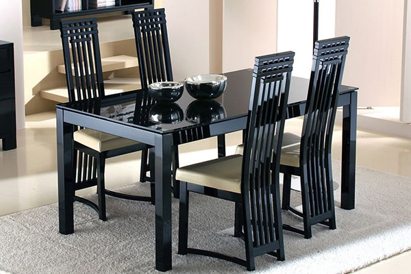 Sophisticated Dining Furnitures. Casabella Furniture. The Long Back Chairs  ...