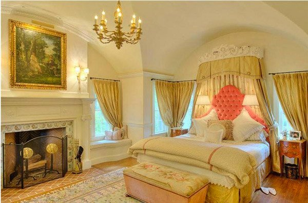 Romantic Master Bedroom Boudoir