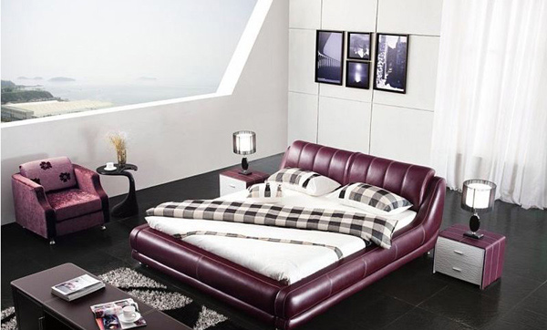Leather Bed 623
