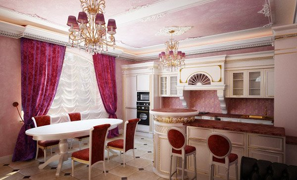 Kitchen Classic Pink