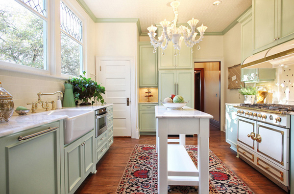 A collection of 15 classy chic kitchen designs home for Chic kitchen ideas