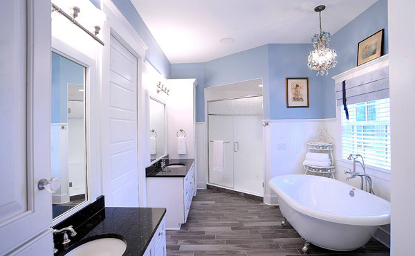 astounding light blue bathroom ideas | 15 Master Bathroom Ideas for Your Home | Home Design Lover