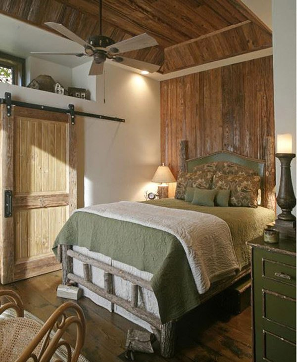 Lodge Room Design: 15 Rustic Bedroom Designs