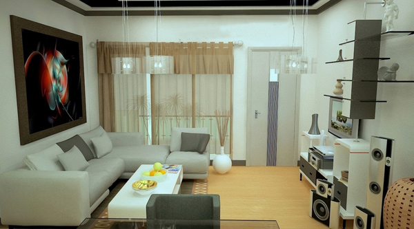 Good Modern Condo Design. Condo Living Room Design Ideas ... Part 24