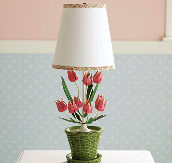 Tulip Lamp for Girls