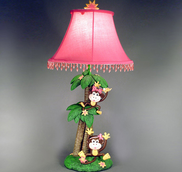Monkeys Table Lamp