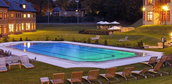 grecian swimming pool