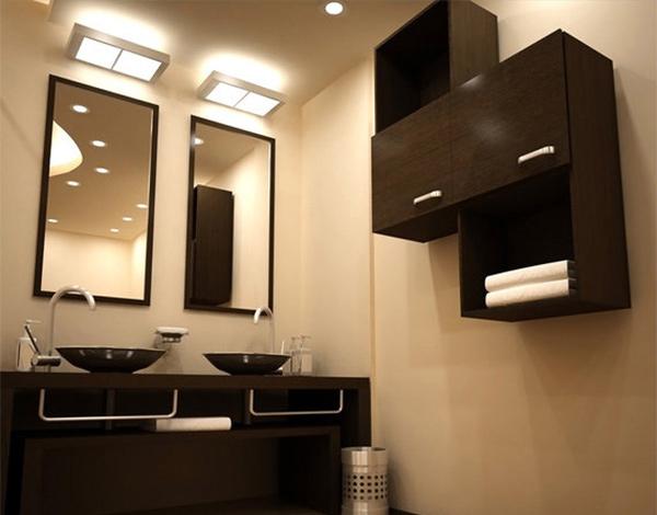 dual vanity design