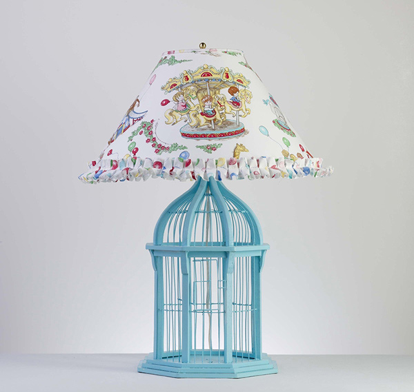 Bird cage Lamp Bed