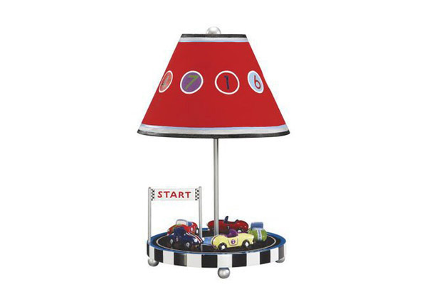 20 boys table lamps for bedroom home design lover retro racers table lamp aloadofball Image collections