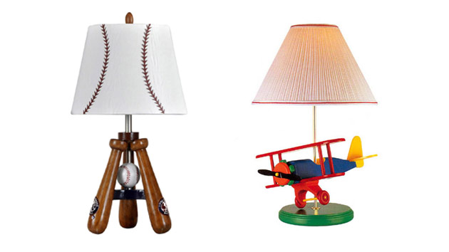20 Boys Table Lamps for Bedroom | Home Design Lover