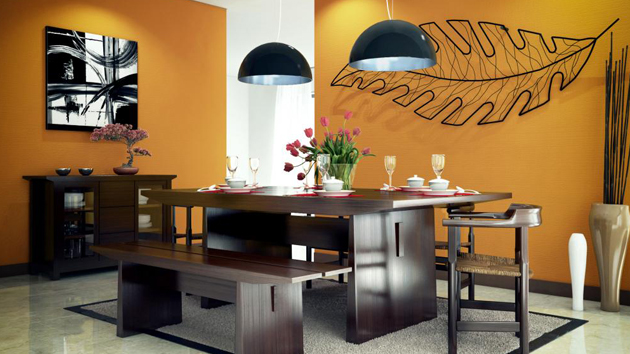 Modern Dining Room Colors 15 admirable dining room color schemes | home design lover